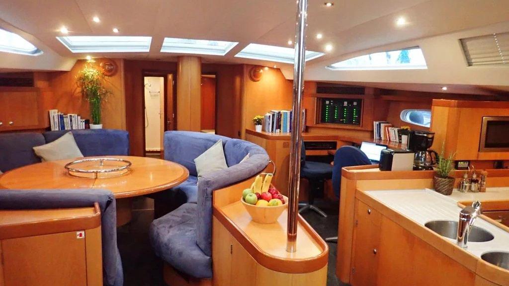 Boreal Adventure Sailing Inside